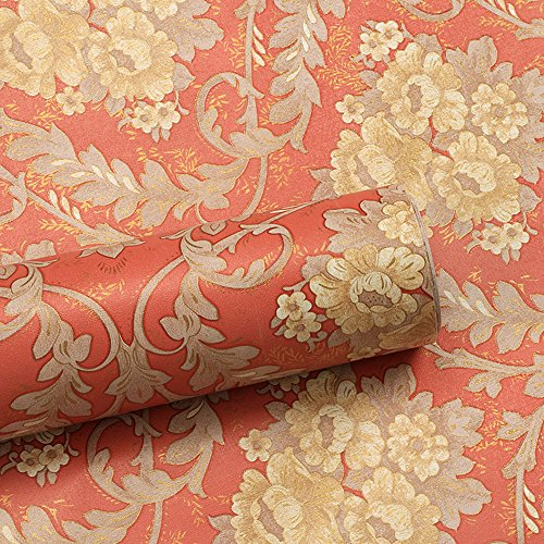Simplelife4u Yellow Floral Contact Paper Self Adhesive