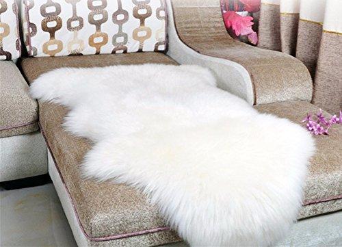 Dikoaina Classic Soft Faux Sheepskin Chair Cover Couch