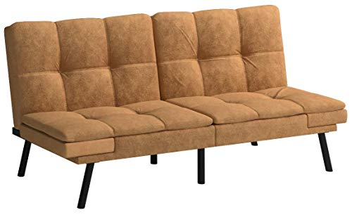 Mainstay Wooden Frame Memory Foam Split Seat And Back