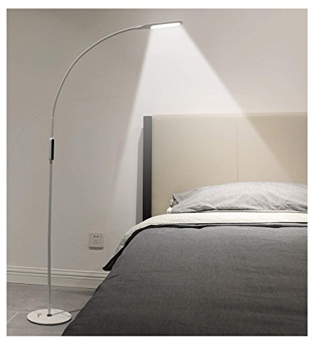 Floor Led Lamp Led Light Lamp Remote Control Amp Touch Adjustable Flexible Gooseneck By