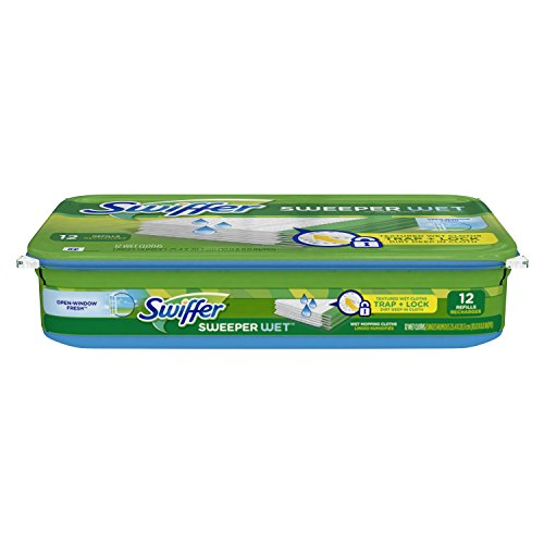 Swiffer Sweeper Dry Mop Refills For Floor Mopping And